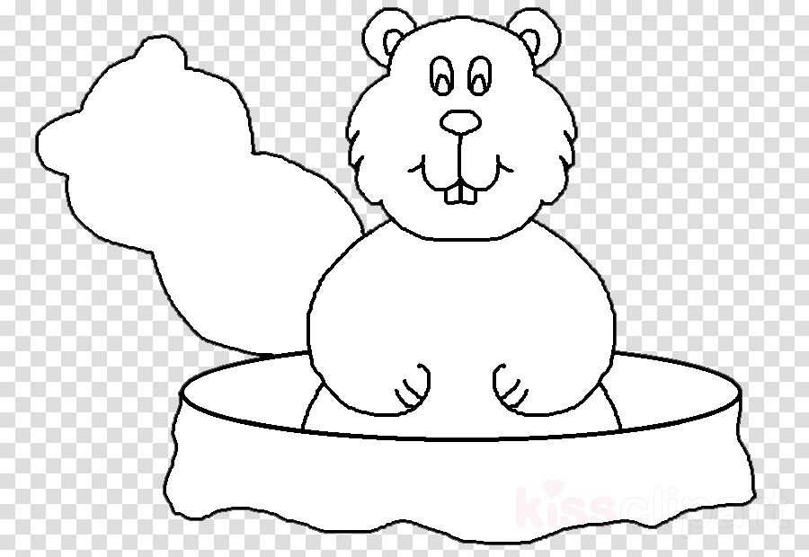 groundhog clipart Whiskers Bear Clip art