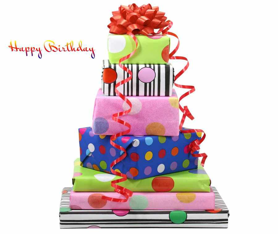 Download Happy Birth Day Gift Clipart Birthday Greeting Note Cards Cake