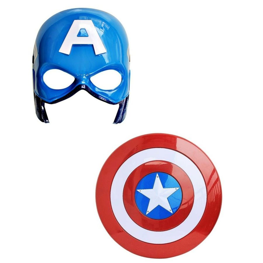 Download Topeng Superhero Clipart Captain America Iron Man Avengers Mask Batman Hulk