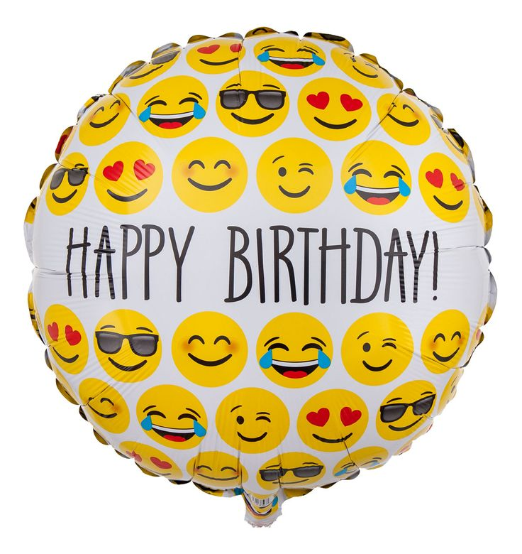 Balloon Birthday Toy Emoji