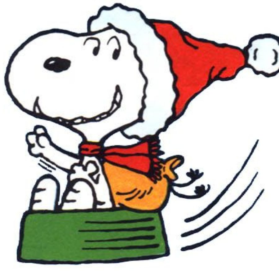snoopy christmas clipart snoopy woodstock charlie brown - Snoopy And Woodstock Christmas