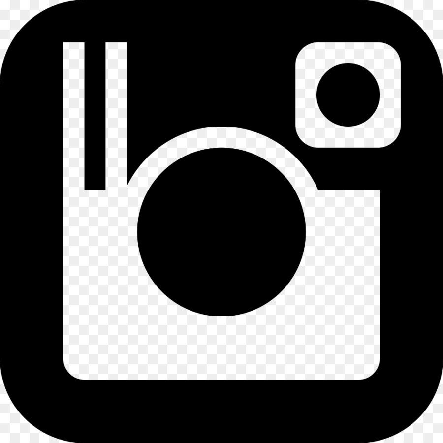 Instagram white logo clipart instagram black font