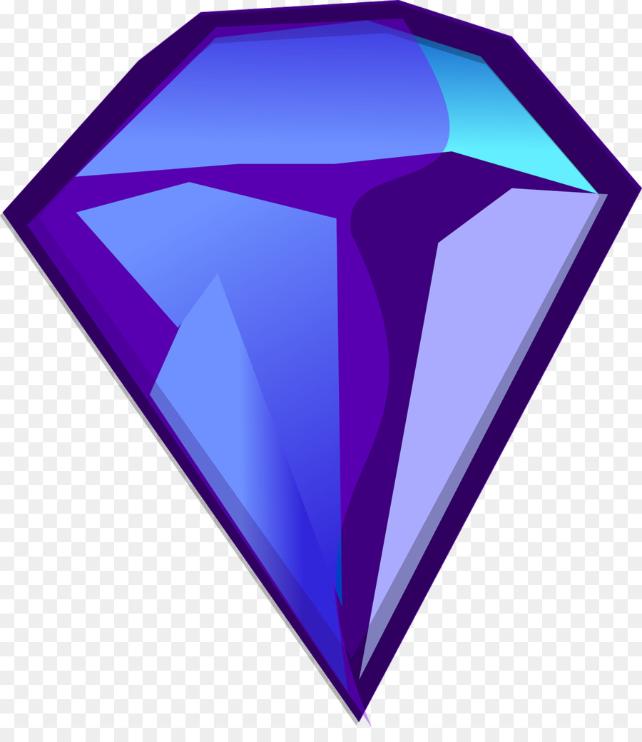 Diamond purple. Graphics transparent png image