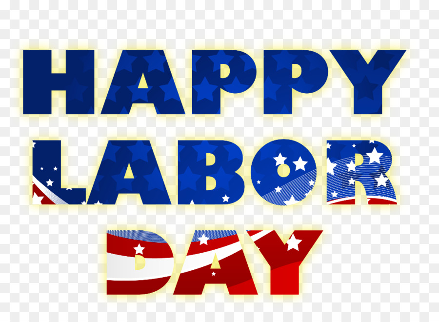 Labor Day Blue Background