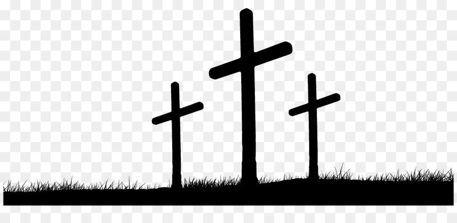 Black Friday Black Background Clipart Easter Religion Cross Transparent Clip Art