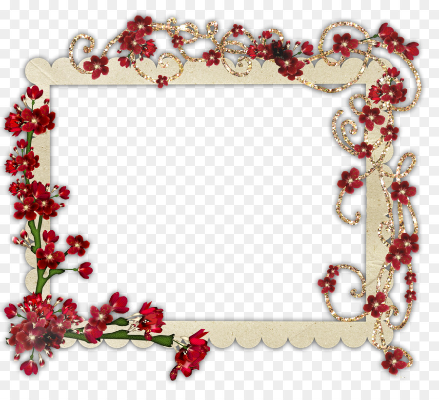 Heart Background Frame Clipart Frame Flower Heart Transparent Clip Art