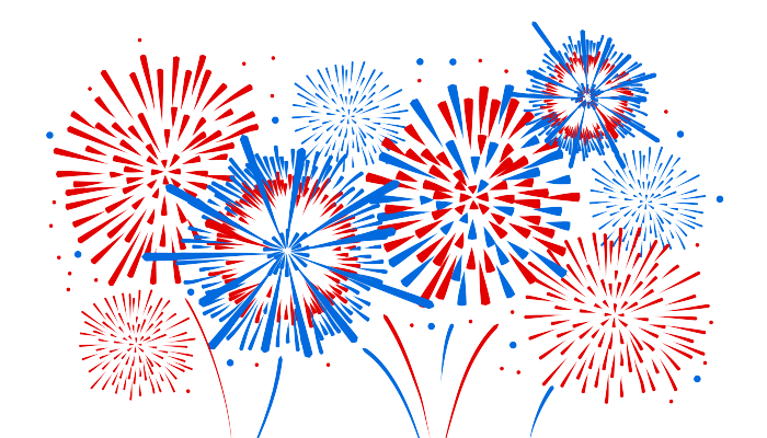4th of july firework. Fourth background clipart fireworks