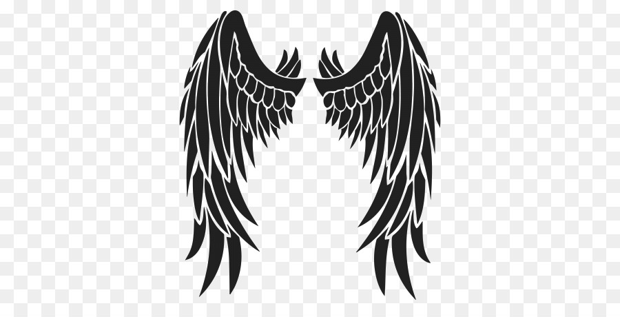 Angel Wings in Black