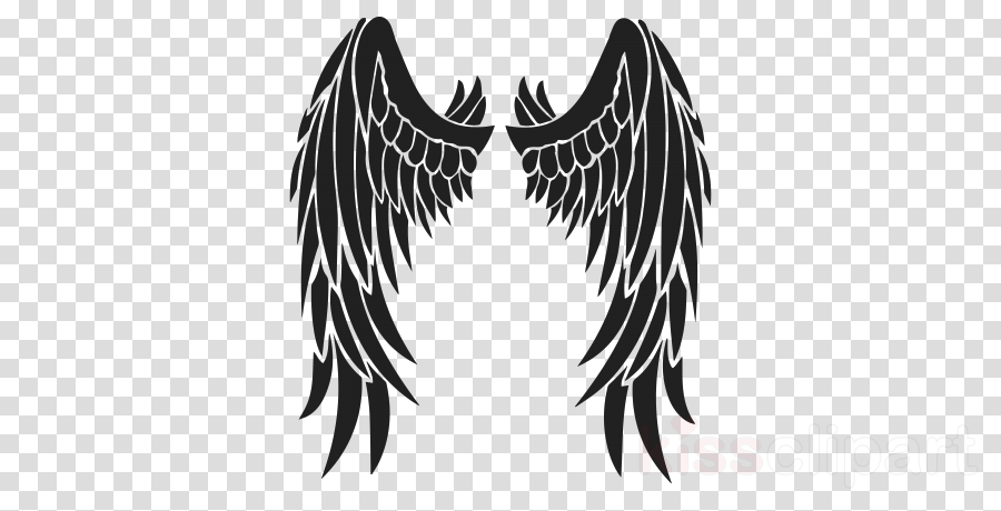 angel wings stencil clipart Stencil Drawing Clip art