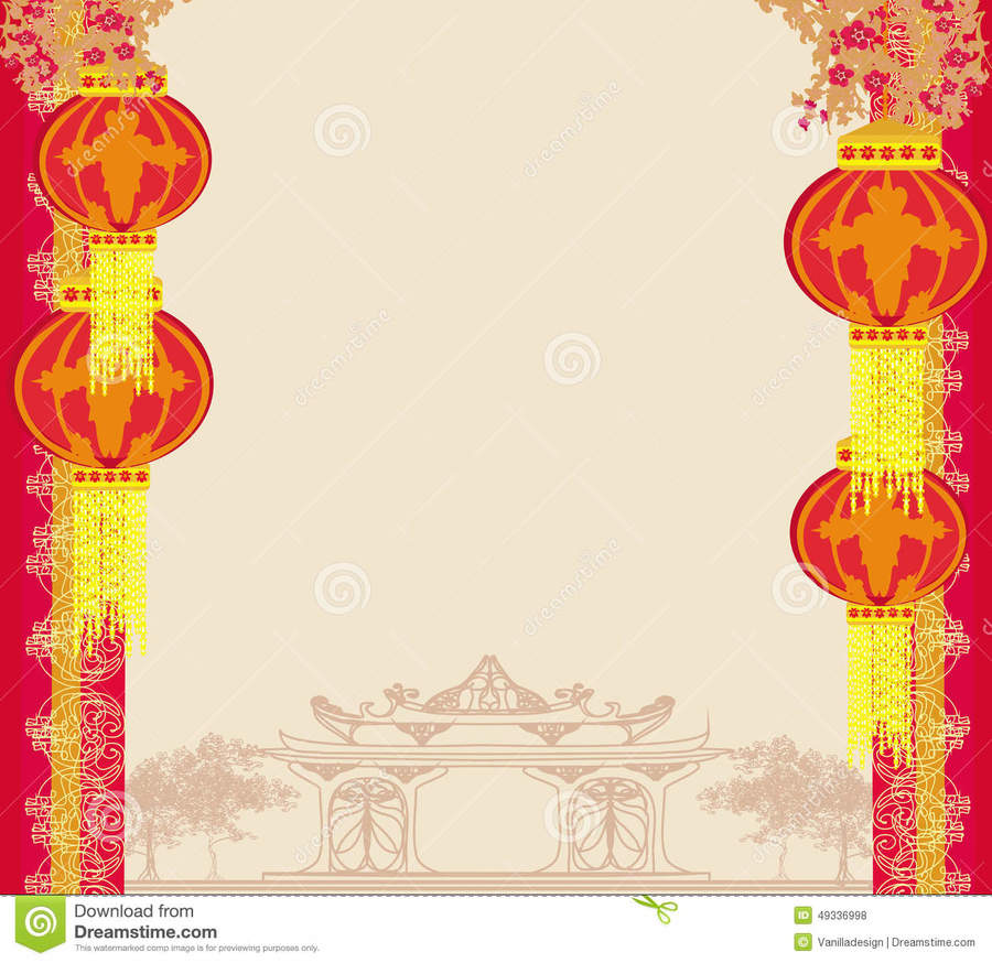 chinese new year borders clipart chinese new year mid autumn festival