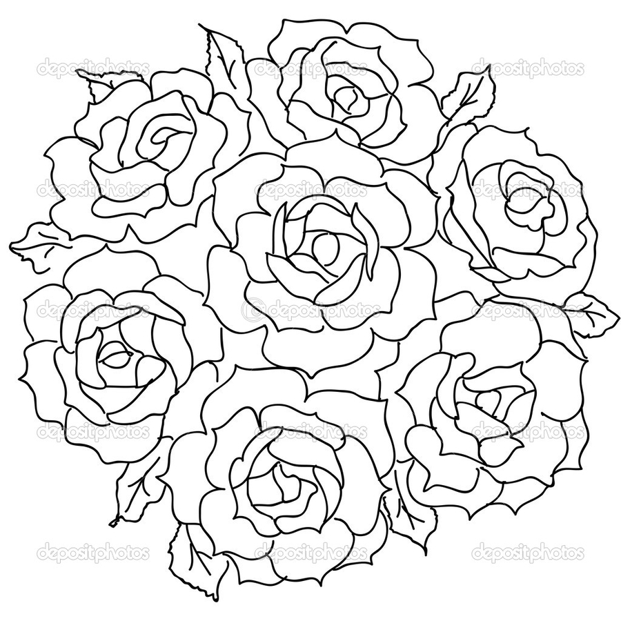 Download bunch of roses drawing clipart drawing flower bouquet bunch of roses drawing clipart drawing flower bouquet izmirmasajfo