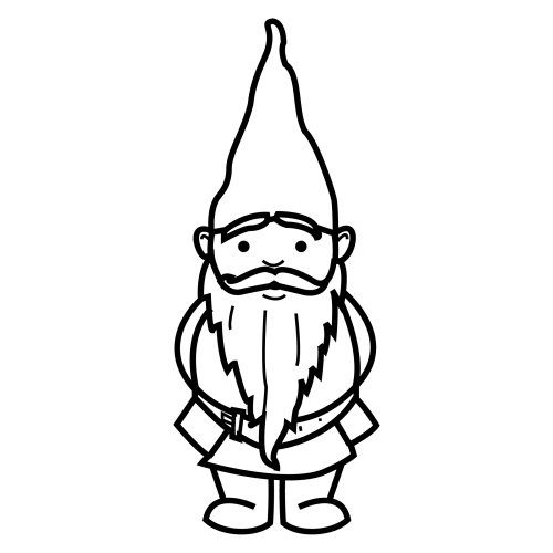 Download gnomo para colorear clipart Gnome Drawing Painting | Gnome ...