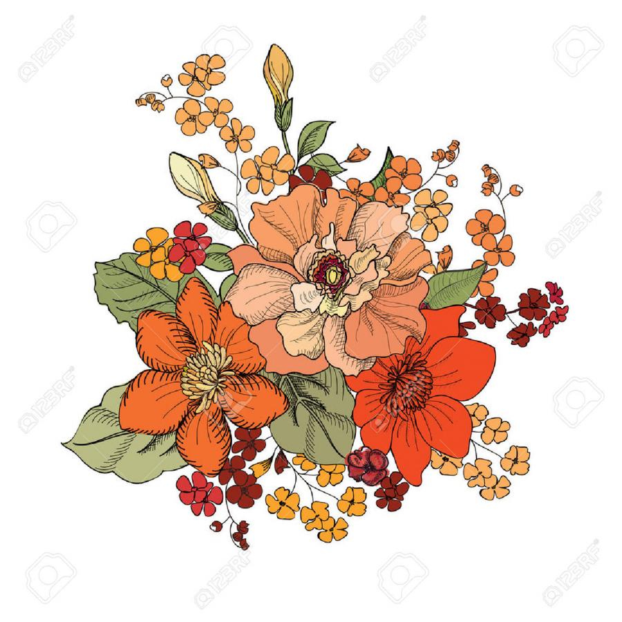 Download flower bouquet illustration clipart flower bouquet clip art download flower bouquet illustration clipart flower bouquet clip art illustration drawing flower izmirmasajfo