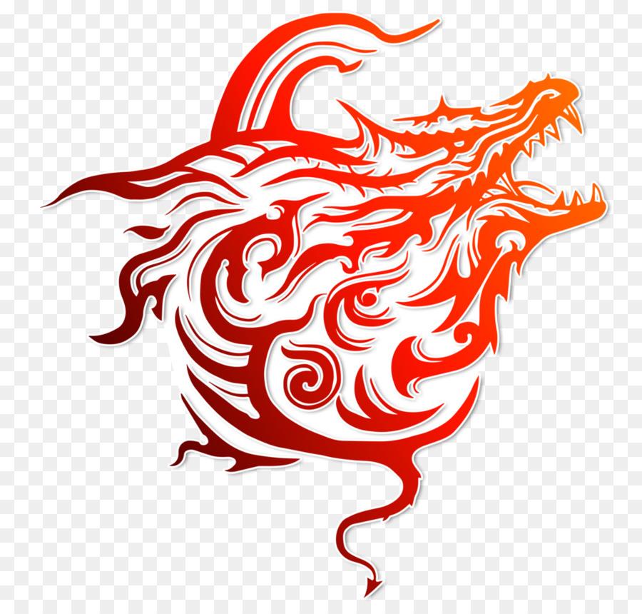 Download Dragon Logo Transparent Clipart Chinese Dragon Symbol
