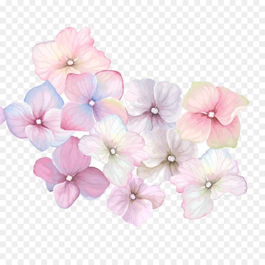 Pink Flowers Background Clipart Pastel Flower Iphone