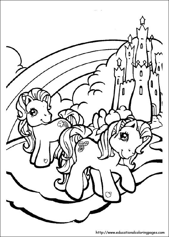 Clipart resolution 567*794 - original my little pony coloring pages ...