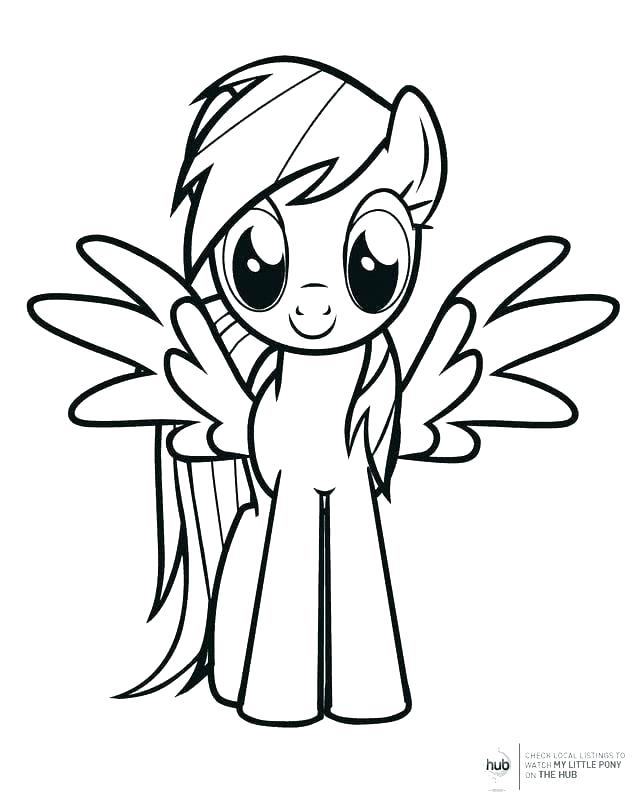 Download my little pony rainbow dash para colorear clipart Rainbow ...