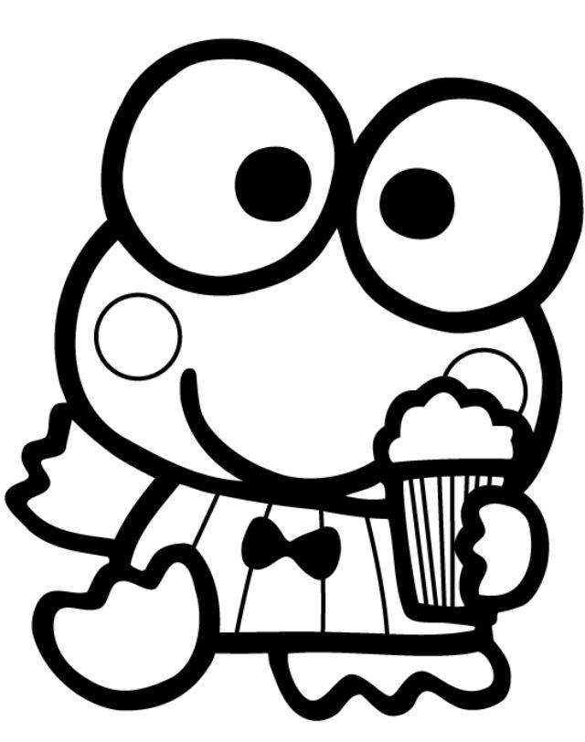 Download keroppi para colorear clipart Hello Kitty My Melody Keroppi ...