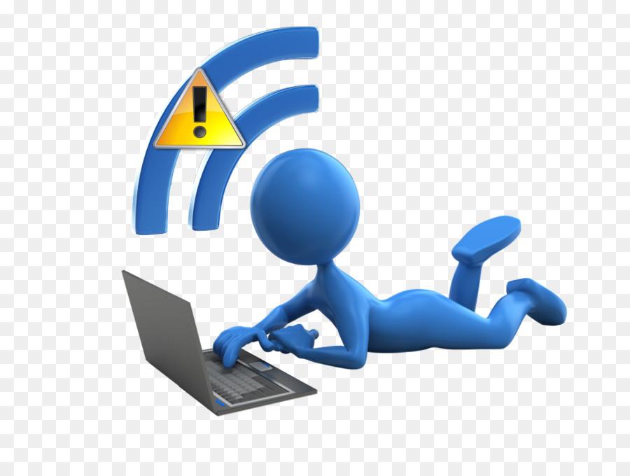 Wifi Logo Clipart Internet Blue Product Transparent Clip Art
