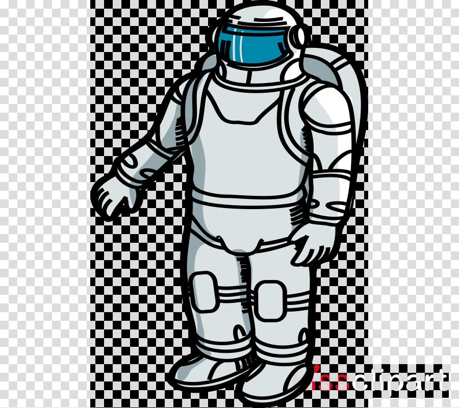 retro astronaut clip art - 900×800