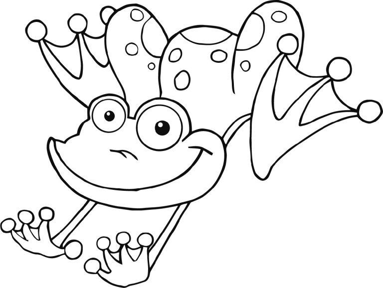Download ranas saltando para colorear clipart Frog and Toad Coloring ...