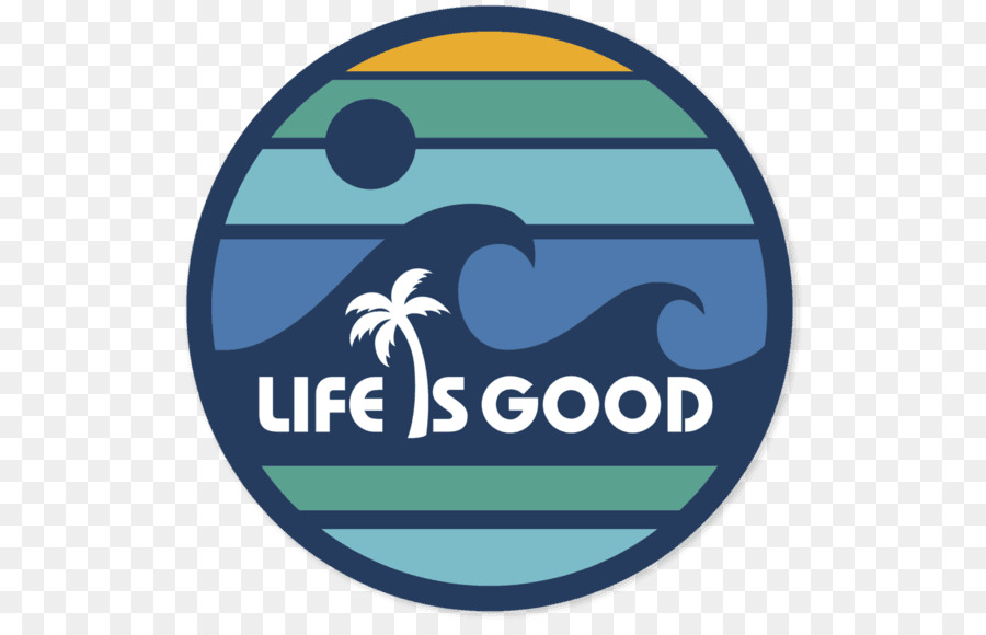 life is good clipart Sticker Decal Life Is Good