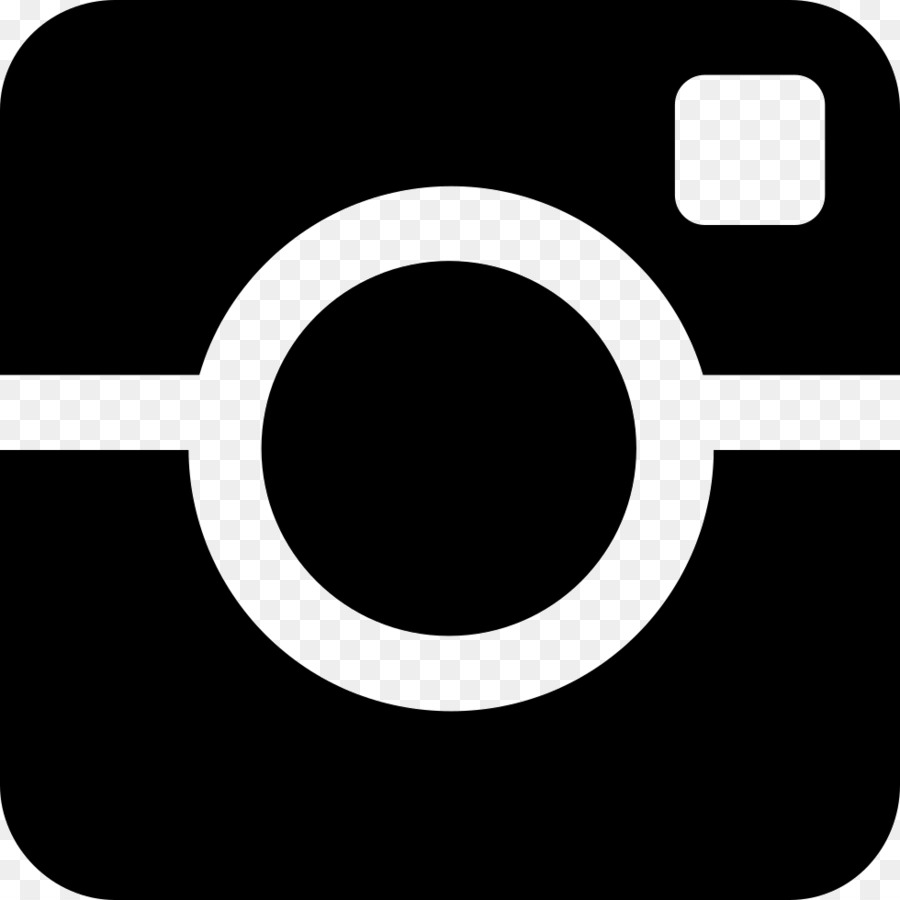 Instagram white logo clipart instagram black circle