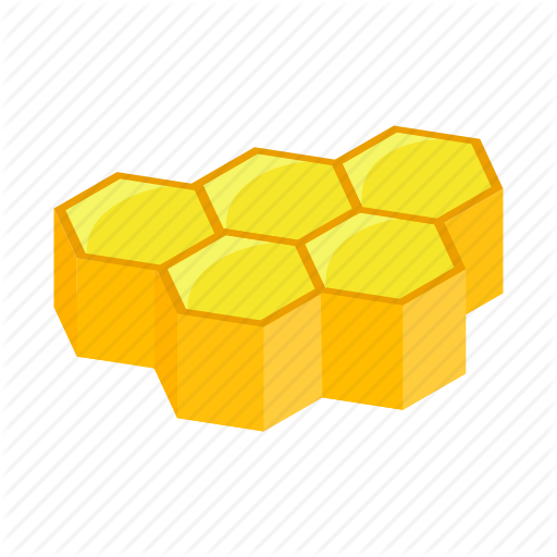 honeycomb 3d clipart Bee Honeycomb Hexagon