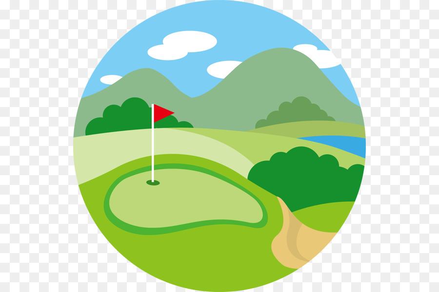 Golf Club Background Clipart Golf Green Leaf Transparent Clip Art
