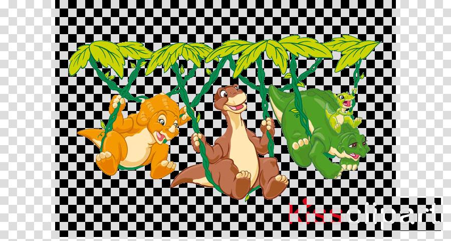 Dinosaur Leaf Cartoon Transparent Png Image Clipart Free Download