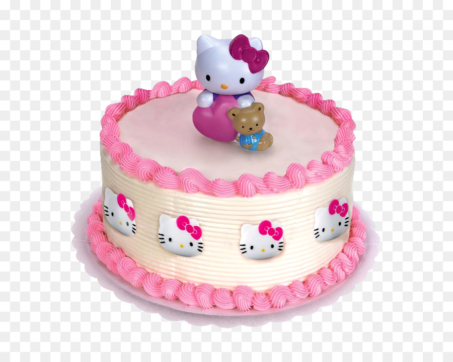 Hello kitty cake. Party clipart cupcake transparent