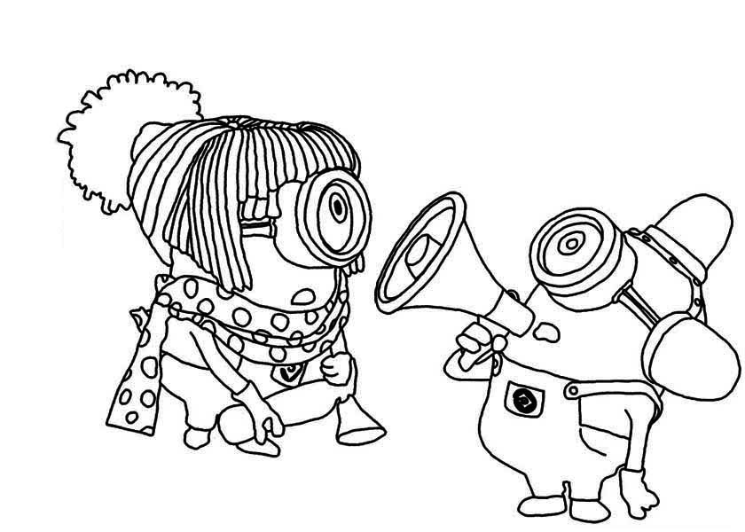 Clipart resolution 840*600 - minion fireman coloring page clipart ...