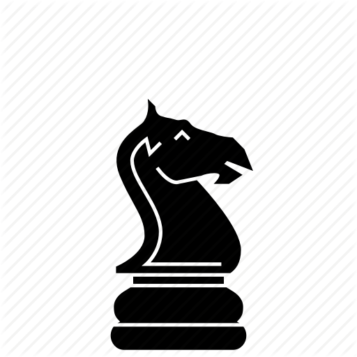 knight chess piece icon clipart Chess piece Knight
