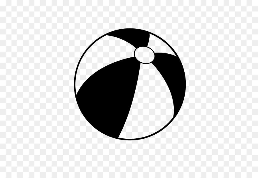 Download Black And White Beach Ball Png Clipart Beach Ball Black