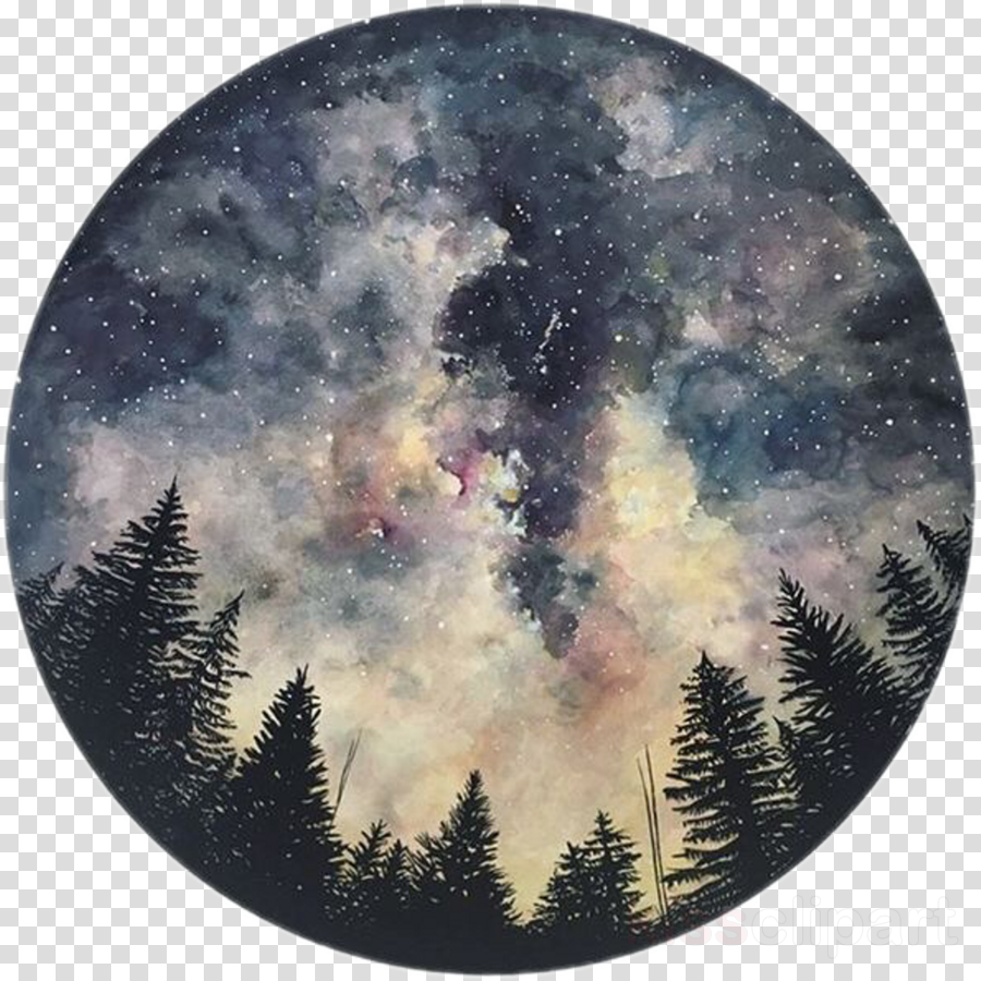 notebook: night sky: pocket notebook journal diary, 120 pages, 8.5