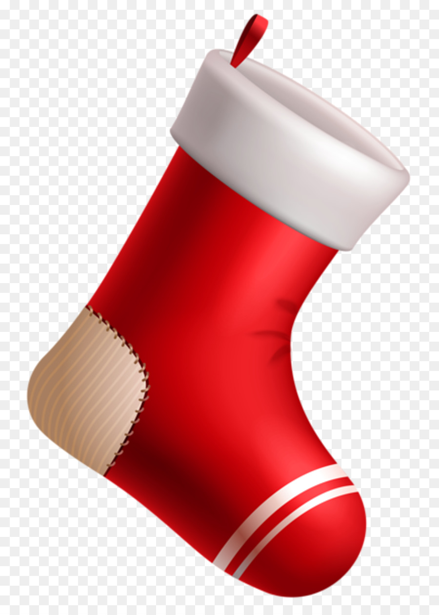 Christmas Stockings Png.Christmas Stocking Cartoon Clipart Red Product