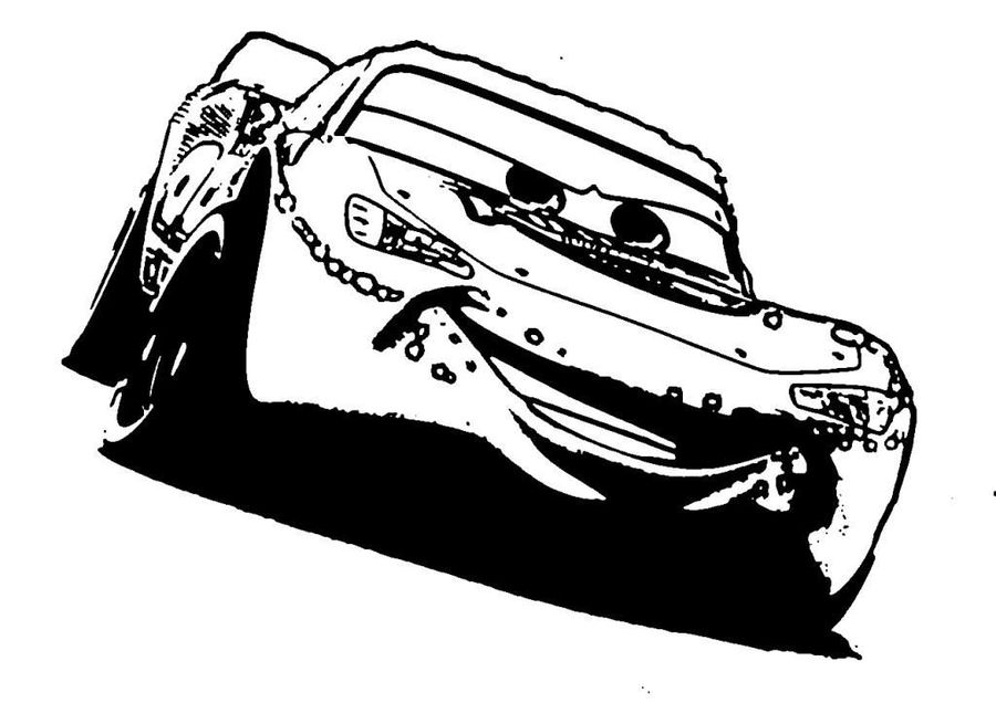 Lightning Mcqueen Coloring Pages Clipart McQueen Mater Colouring