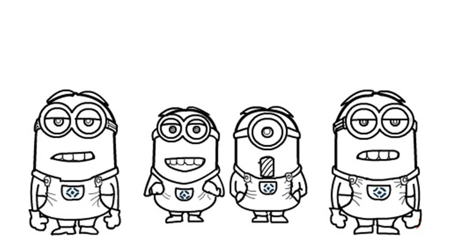 Download minions para colorear clipart Bob the Minion Evil Minion ...