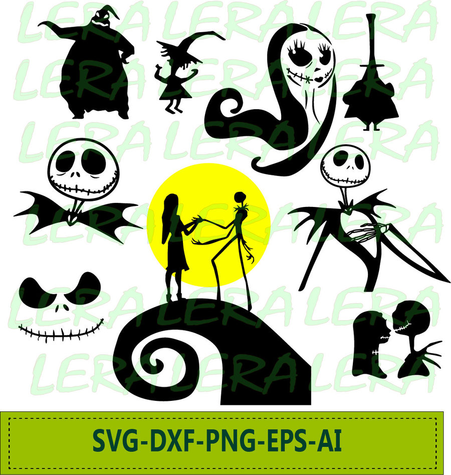 Download nightmare before christmas jack vector clipart Jack ...