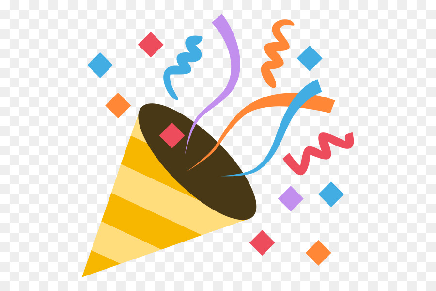 party popper emoji clipart Party popper Emoji