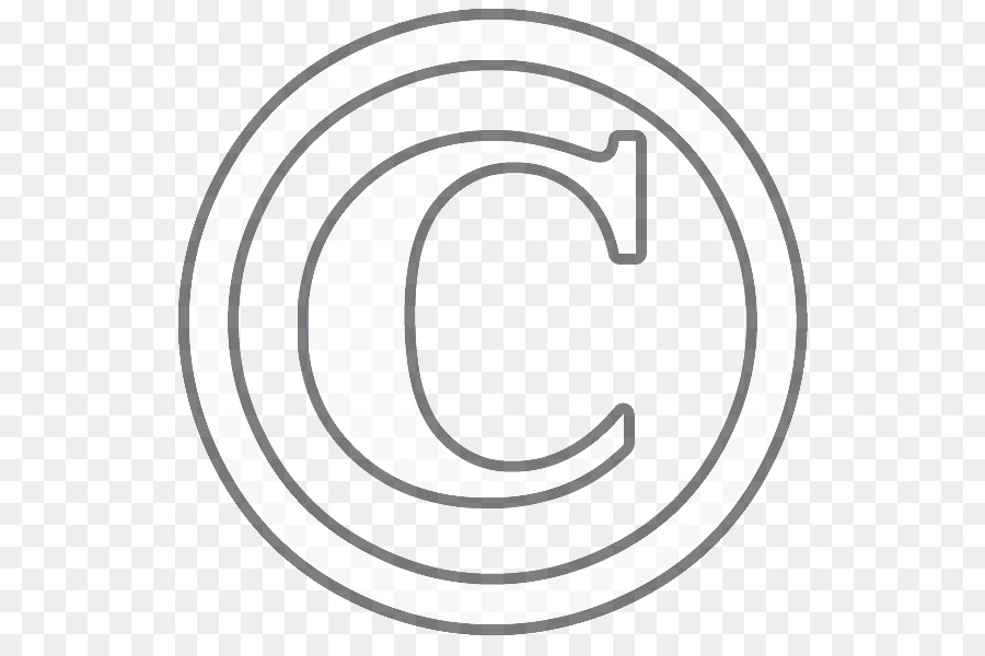 Download Circle Clipart Copyright Symbol Whitetextfontcircle