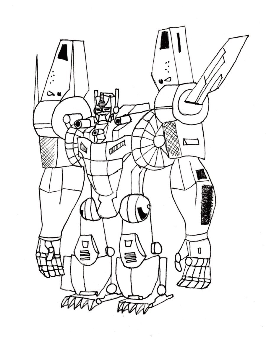 Rescue Bot Coloring Pages Clipart Bumblebee Optimus Prime Colouring
