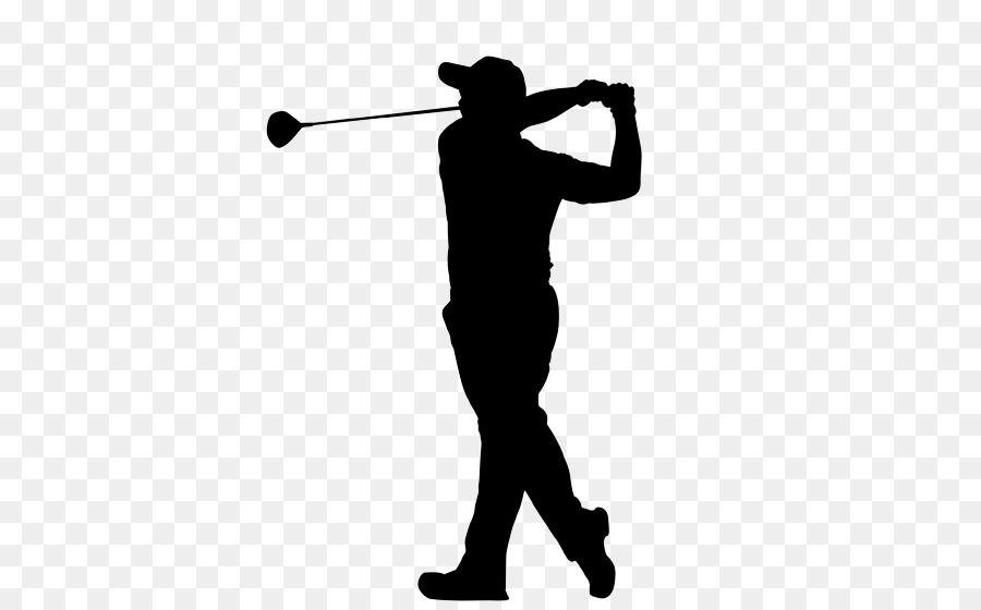 Golf Club Background Clipart Golf Silhouette Line Transparent Clip Art