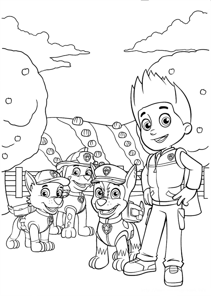 download ryder paw patrol coloring page clipart coloring book colouring pages christmas coloring pages