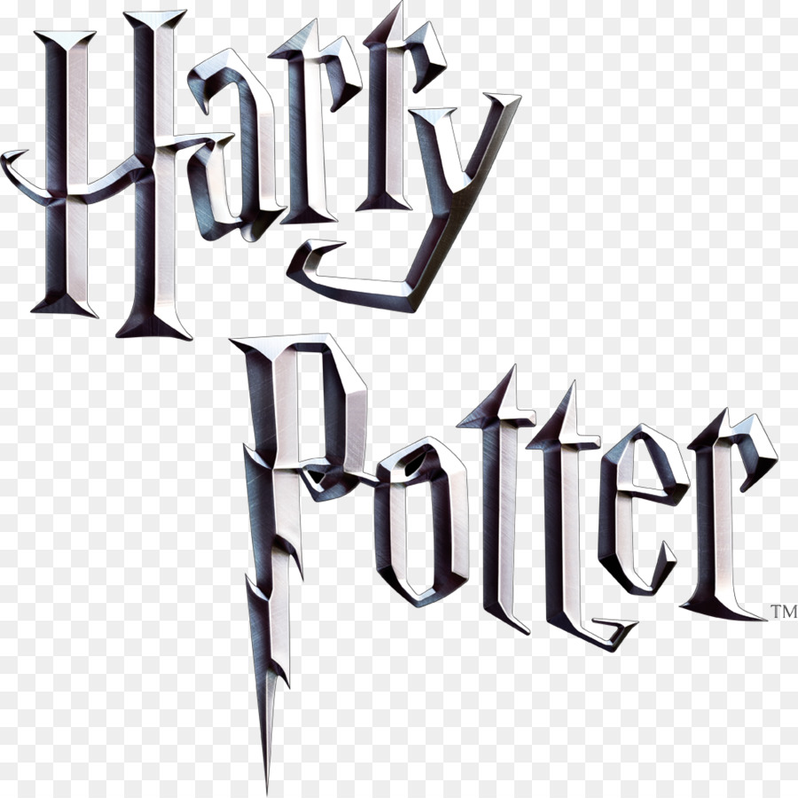Harry potter logo. Text font product transparent