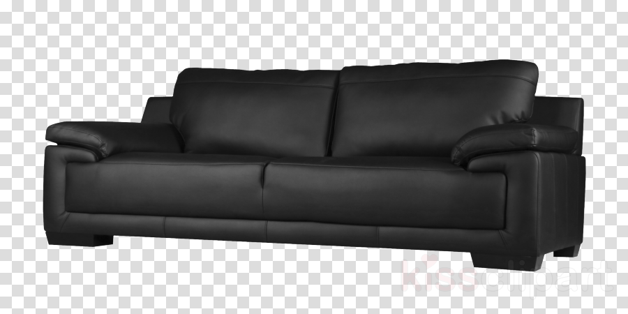 Couch Black Furniture Transparent Png Image Clipart Free Download