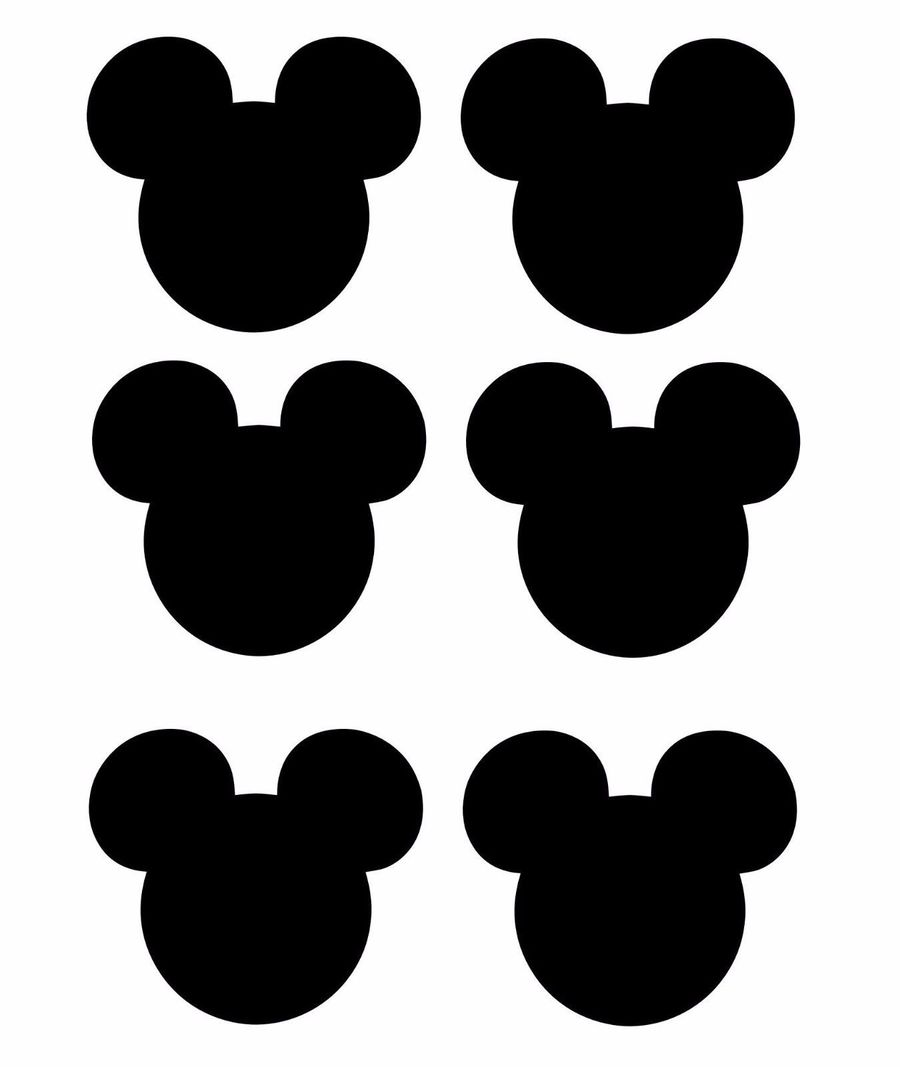 Download Mickey Mouse Cupcake Topper Png Clipart Minnie Cake