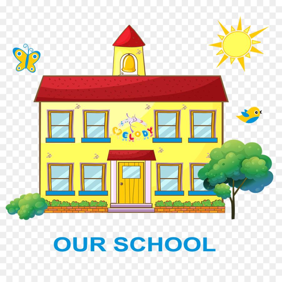 Preschool Cartoon Clipart School Education Kindergarten Transparent Clip Art