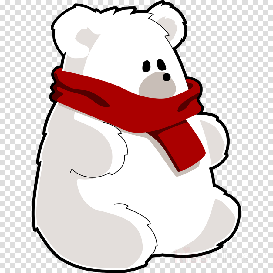 custom teddy polar bear shower curtain clipart Polar bear Giant panda