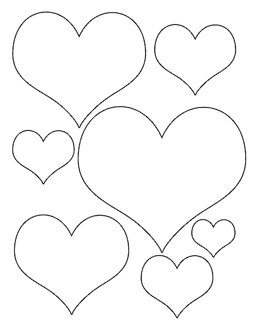 mini corazones para colorear clipart Drawing Coloring book